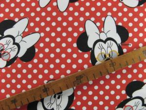 Jersey Digitaldruck Lizenz Minnie Mouse